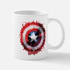 Cap Shield Spattered Mug