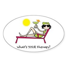 Sun Therapy Oval Decal