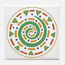 Mediterranean Mosaic Tile Coaster