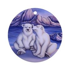 Polar Attraction Ornament (Round)
