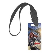 Avengers Super Spy Black Widow Luggage Tag