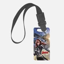 Avengers Super Spy Black Widow Luggage Tag