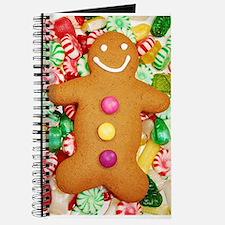 Christmas gingerbread man Journal