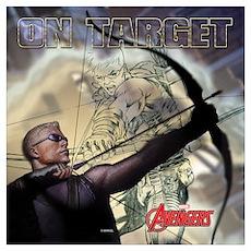 Avengers On-Target Hawkeye Wall Art Poster