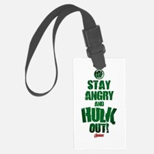 Stay Angry and Hulk Out Luggage Tag