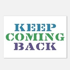Keep Coming Back Recovery Postcards (Package of 8)