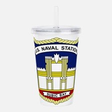 US NAVAL STATION SUBIC Acrylic Double-wall Tumbler
