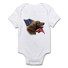 Chessie Flag Infant Bodysuit