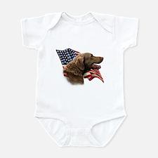 Chessie Flag Infant Bodysuit