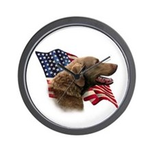 Chessie Flag Wall Clock