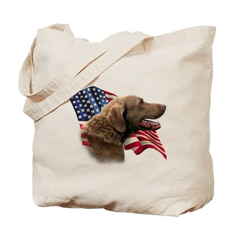 Chessie Flag Tote Bag