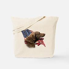 Chessie Flag Tote Bag