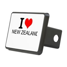 I Love New Zealand Hitch Cover