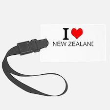 I Love New Zealand Luggage Tag