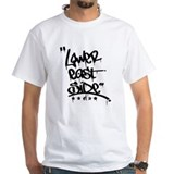 East side Mens White T-shirts
