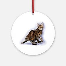 Toyger Turning Ornament (round)