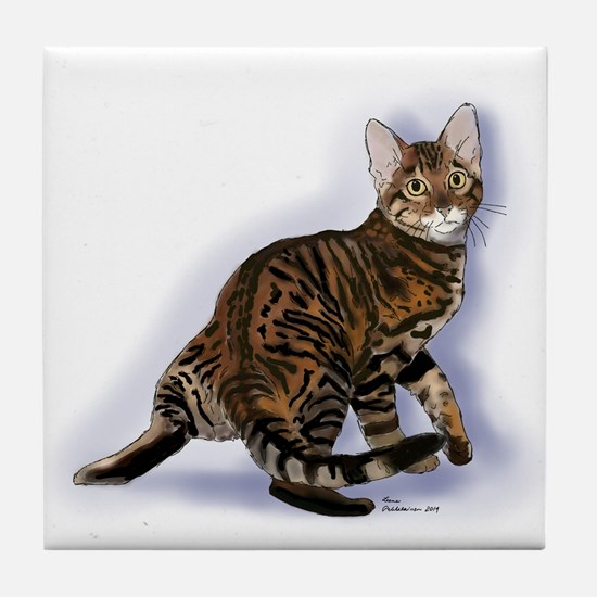 Toyger Turning Tile Coaster