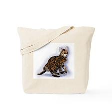 Toyger Turning Tote Bag