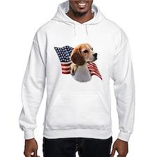 Beagle Flag Hoodie