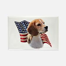 Beagle Flag Rectangle Magnet