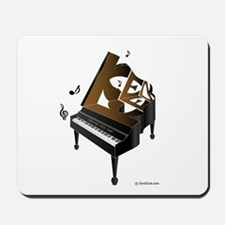 Ken grand piano 1 Mousepad