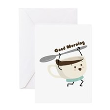 Good Morning Greeting Cards
