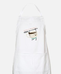 Coffee Is Happiness Apron