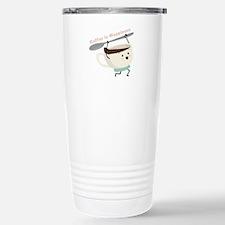 Coffee Is Happiness Travel Mug