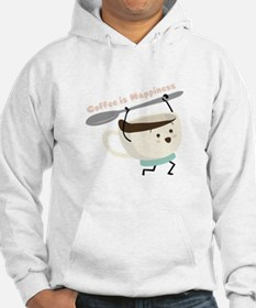 Coffee Is Happiness Hoodie