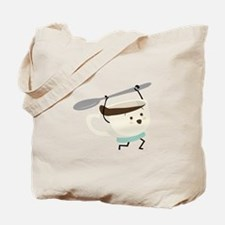 Happy Coffee Cup Tote Bag
