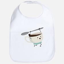 Happy Coffee Cup Bib