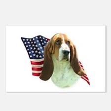 Basset Flag Postcards (Package of 8)
