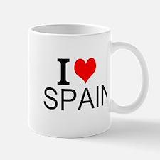I Love Spain Mugs