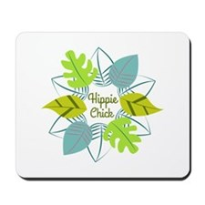 Hippie Chick Mousepad