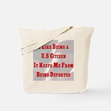 U.S. Citizen Tote Bag