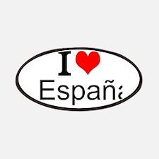 I Love España Patches