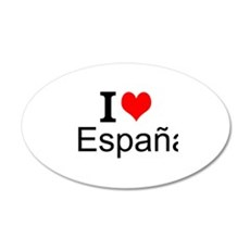 I Love España Wall Decal