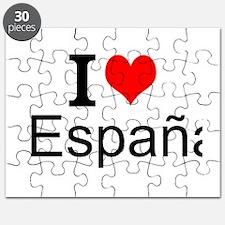I Love España Puzzle