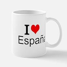 I Love España Mugs