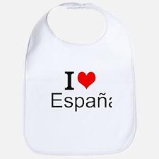 I Love España Bib