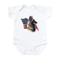 Terv Flag Infant Bodysuit