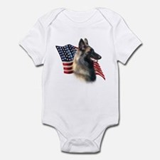 Terv Flag Infant Bodysuit