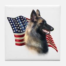 Terv Flag Tile Coaster