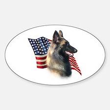 Terv Flag Oval Decal