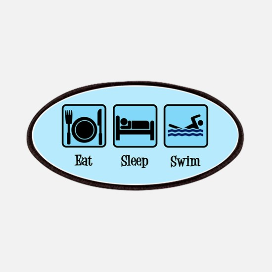Eat Sleep Swim Patch