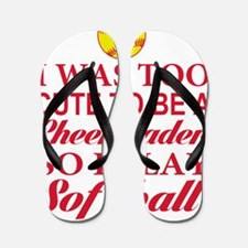 GIRLS SOFTBALL Flip Flops