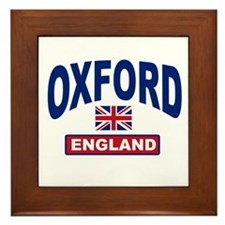 Oxford England Framed Tile