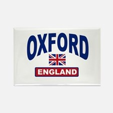 Oxford England Rectangle Magnet