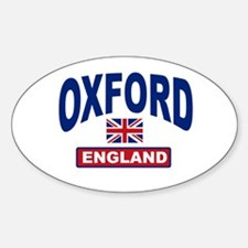 Oxford England Oval Decal