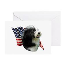 Bearded Flag Greeting Cards (Pk of 10)